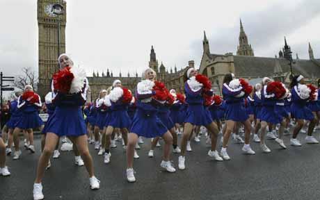 london 2013 new year parade